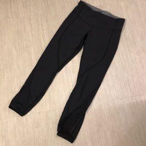Lululemon black crop leggings 4